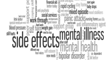 The side effects of medications used for mental disease or other diseases