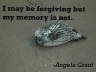 Angela Grant #quote, forgiveness