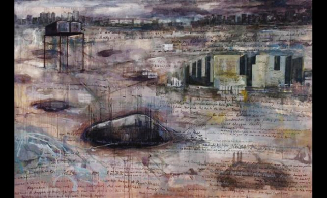 In This Landscape There is No Certainty 2011, oil on canvas