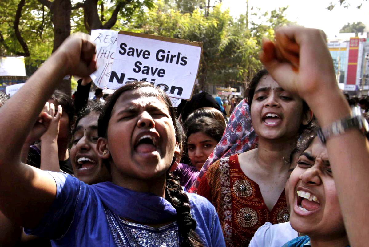India most dangerous country for girls...Save Girls!