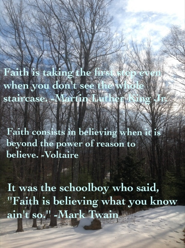 Sunday Quotes: Have Faith