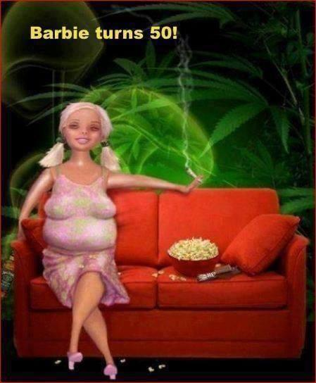 barbie old at 50