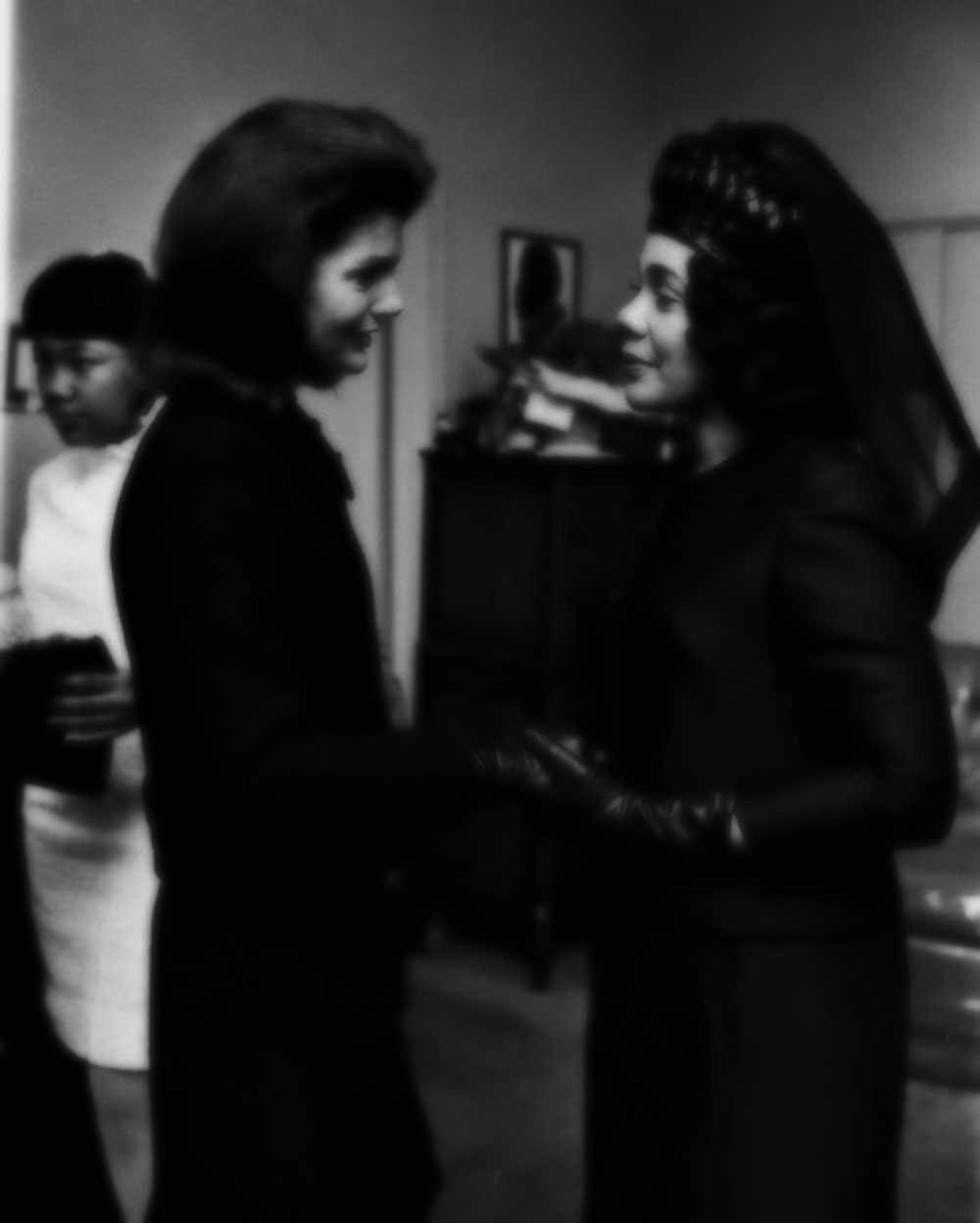 Jackie Kennedy and Coretta Scott King