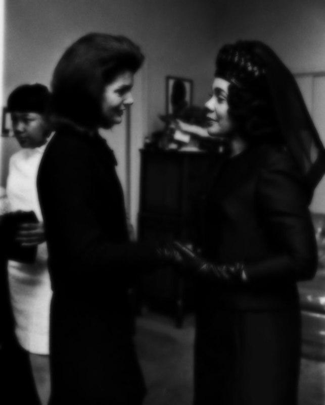 Jackie Kennedy and Coretta Scott King