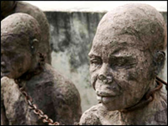 newly arrived slaves