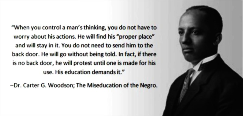 the life and contributions of dr carter g woodson