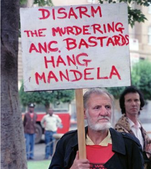 Black-Hating Racist,  Celebrate Mandela's Death : Adios,Scum!