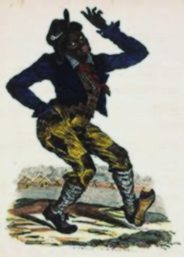 Caricature of blacks for the amusement of whites...
