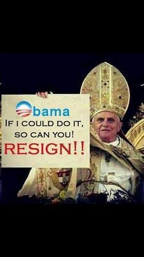 obama to resign