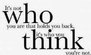 who you think