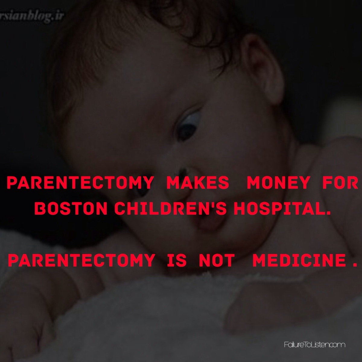 PARENTECTOMY  On SALE in Boston