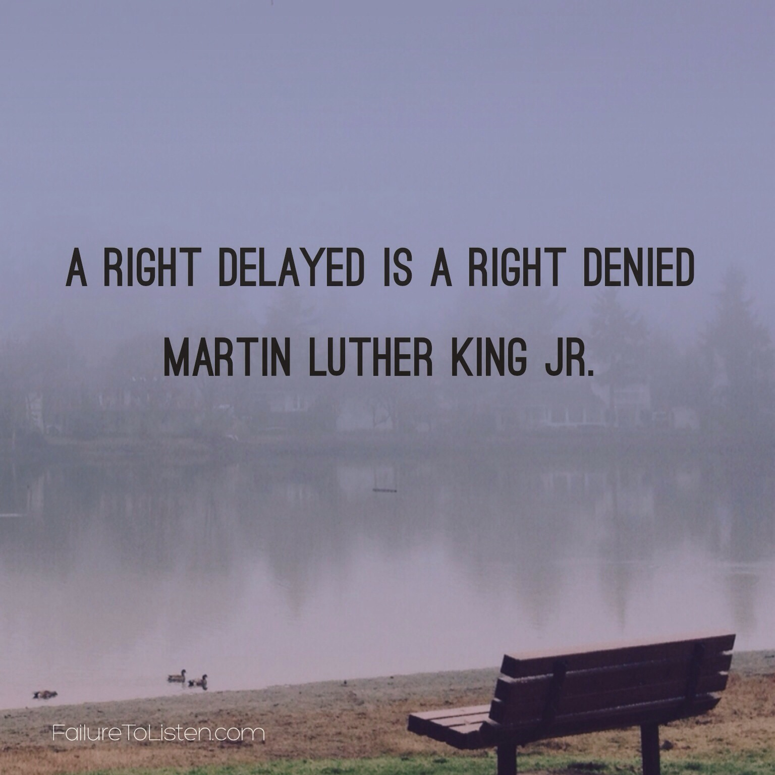 Martin Luther King Jr #quote