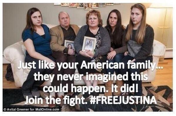 #FreeJustinaNow