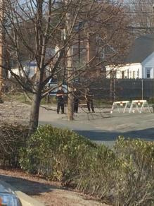 .@waysideyouthorg- @NinaBCaley Wayside under armed guards