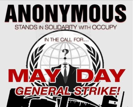 Anonymous – Mayday 2014 Rallies May1