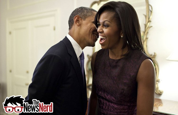President and First Lady Busted on the Oval OfficeDesk…