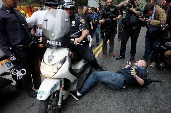 """""""And we're going to have to run you over, just for good measure."""" #myNYPD"""
