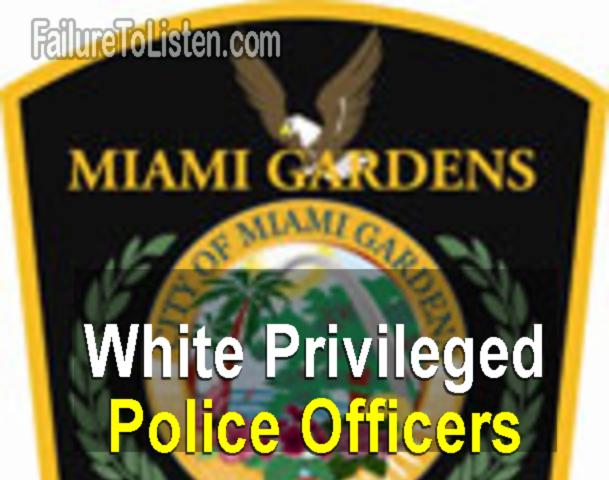 Miami Gardens told by their Chief to target black males between ages of 15-30