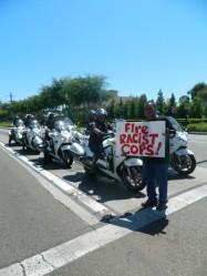 fire racist cops