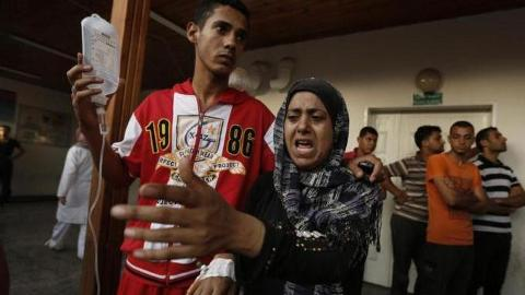 Israel strikes school
