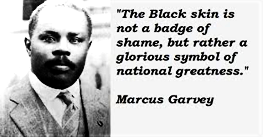 Image result for marcus garvey on intelligence in different races