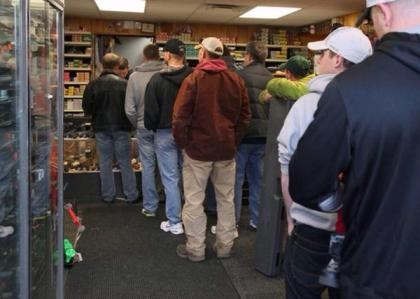The people buying guns in Ferguson