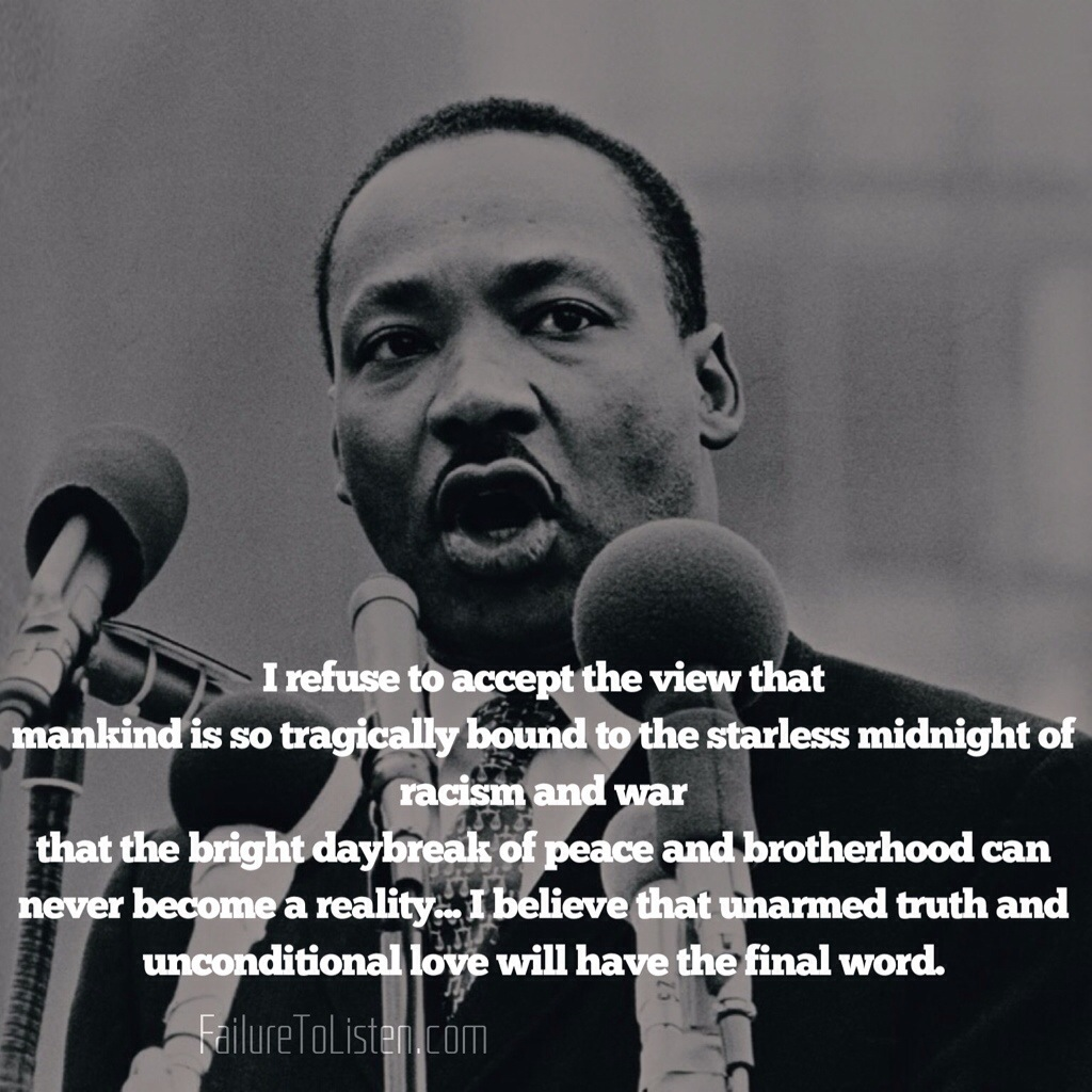 Martin Luther King Love Quotes Martin Luther King Jr Quotes Of Inspiration For The Oppressed