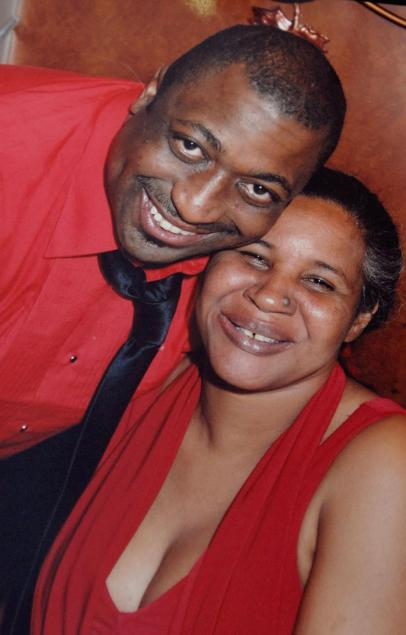 Eric and wife Esaw Garner