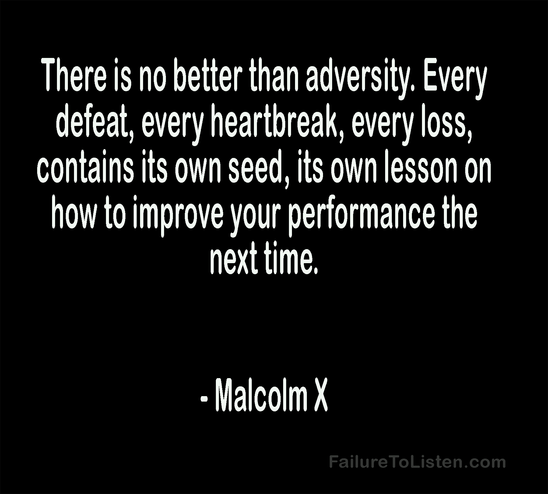 Malcolm X Stand For Something Or Fall For Anything Failure To Listen