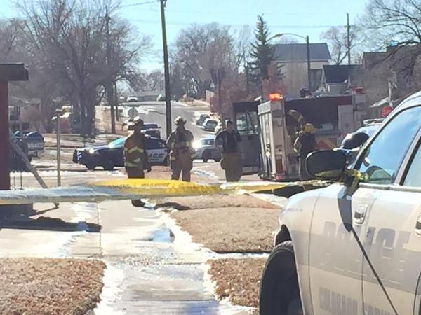 Scene in Colorado Springs after homemade bomb explodes in front of NAACP