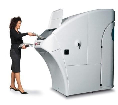 Human-sized shredder