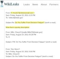 DNC Leak of Hillary's Health