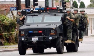 Military Police in Ferguson