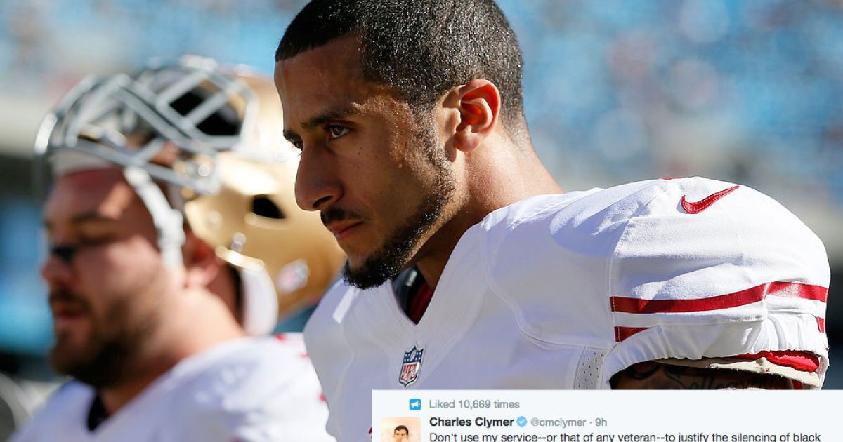 Colin Kaepernick:  How Can I Be Proud Of A Country That Oppresses People Like Me?
