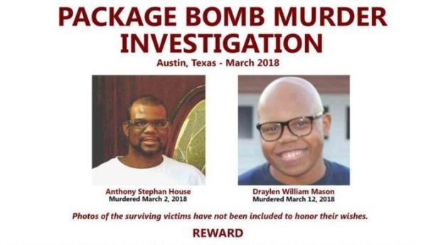 Deceased victims in Austin Bombings